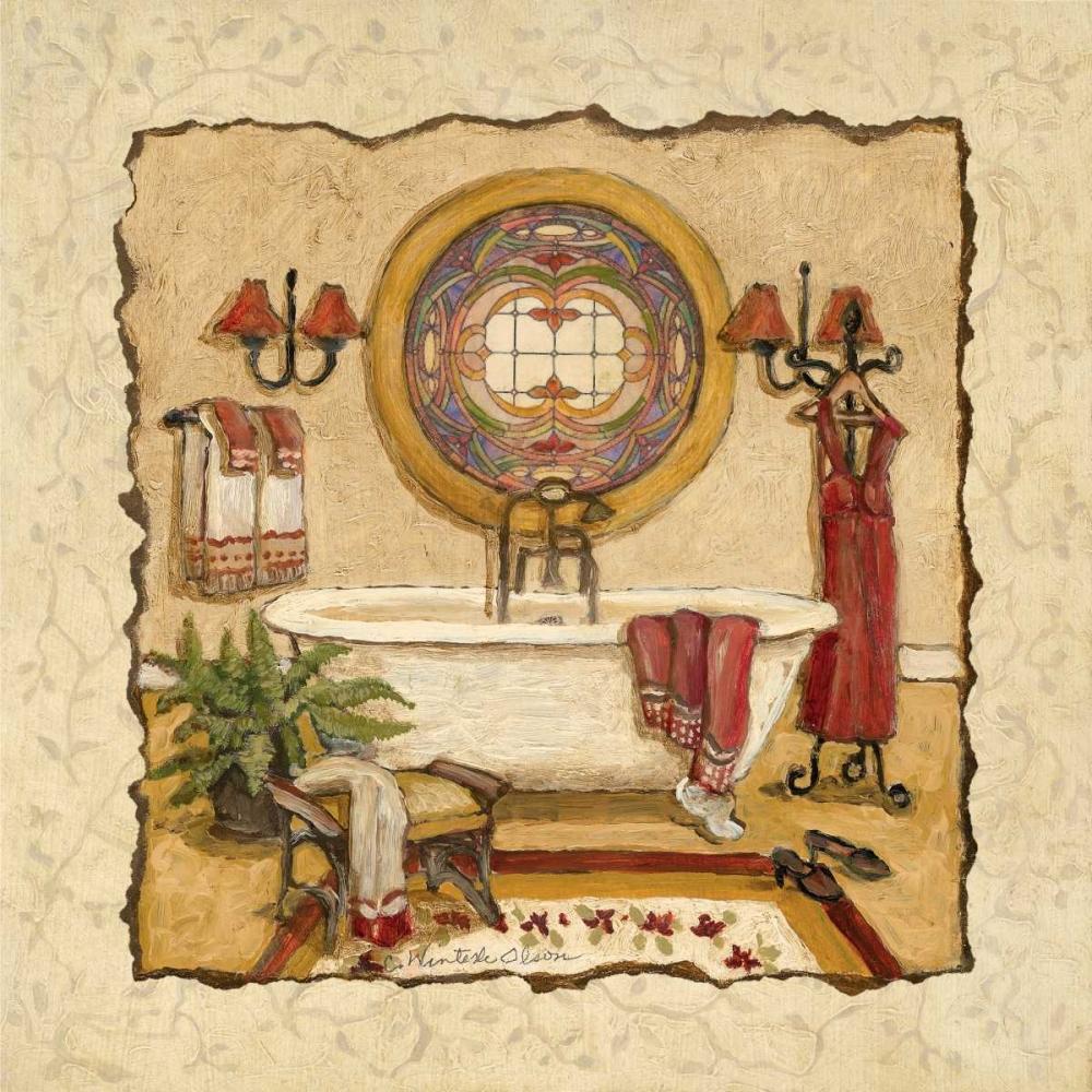 Art Deco Bath I Olson, Charlene 10047