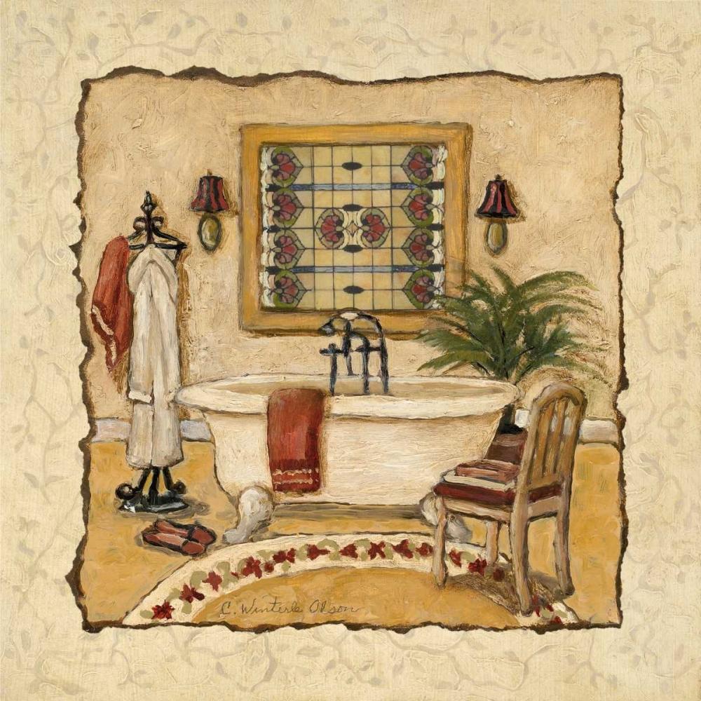 Art Deco Bath II Olson, Charlene 10048