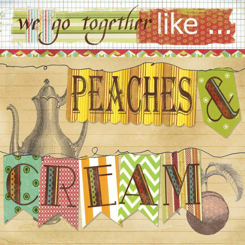 Peaches And Cream Robinson, Carol 21628