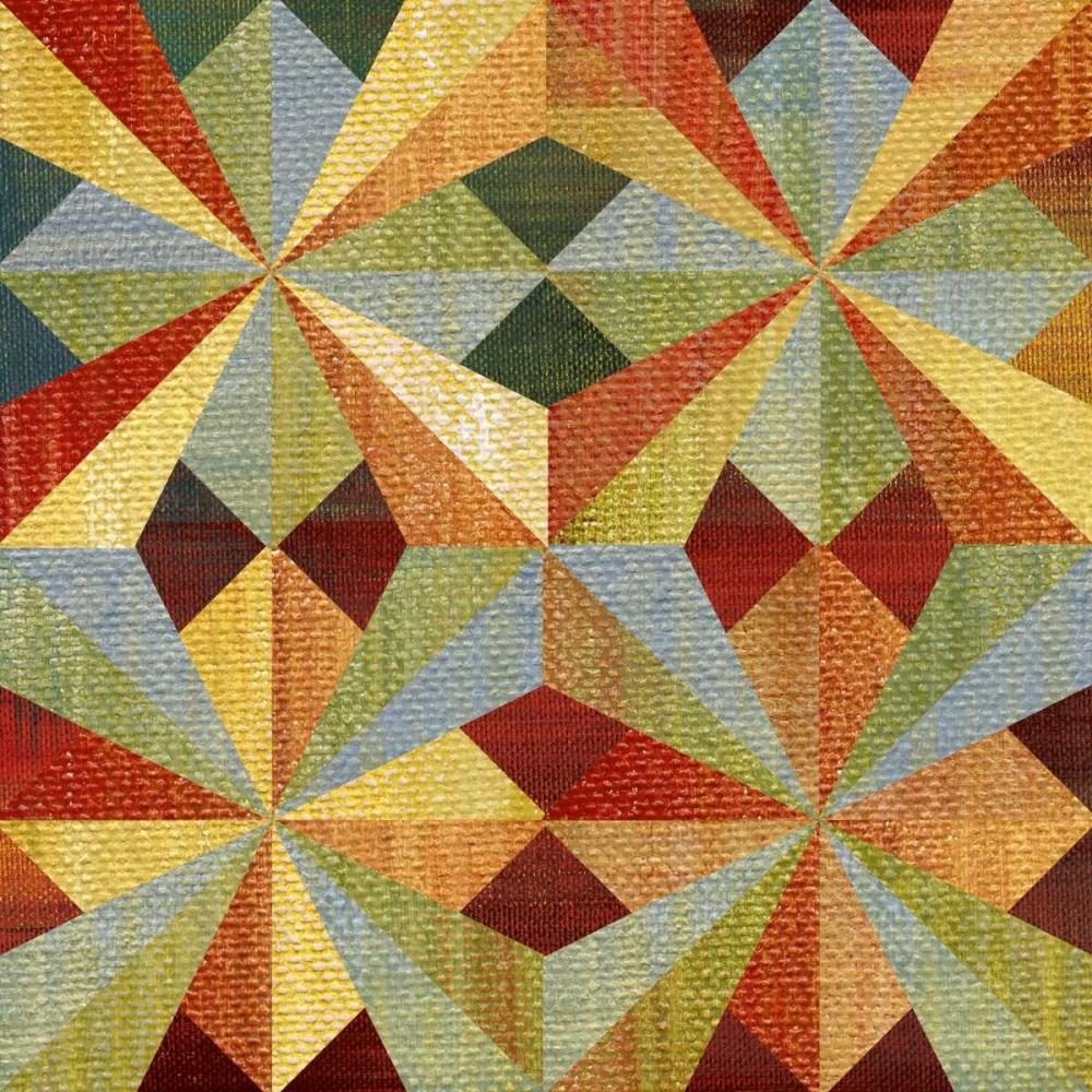 Kaleidoscope Quilt I Craven, Katrina 35920