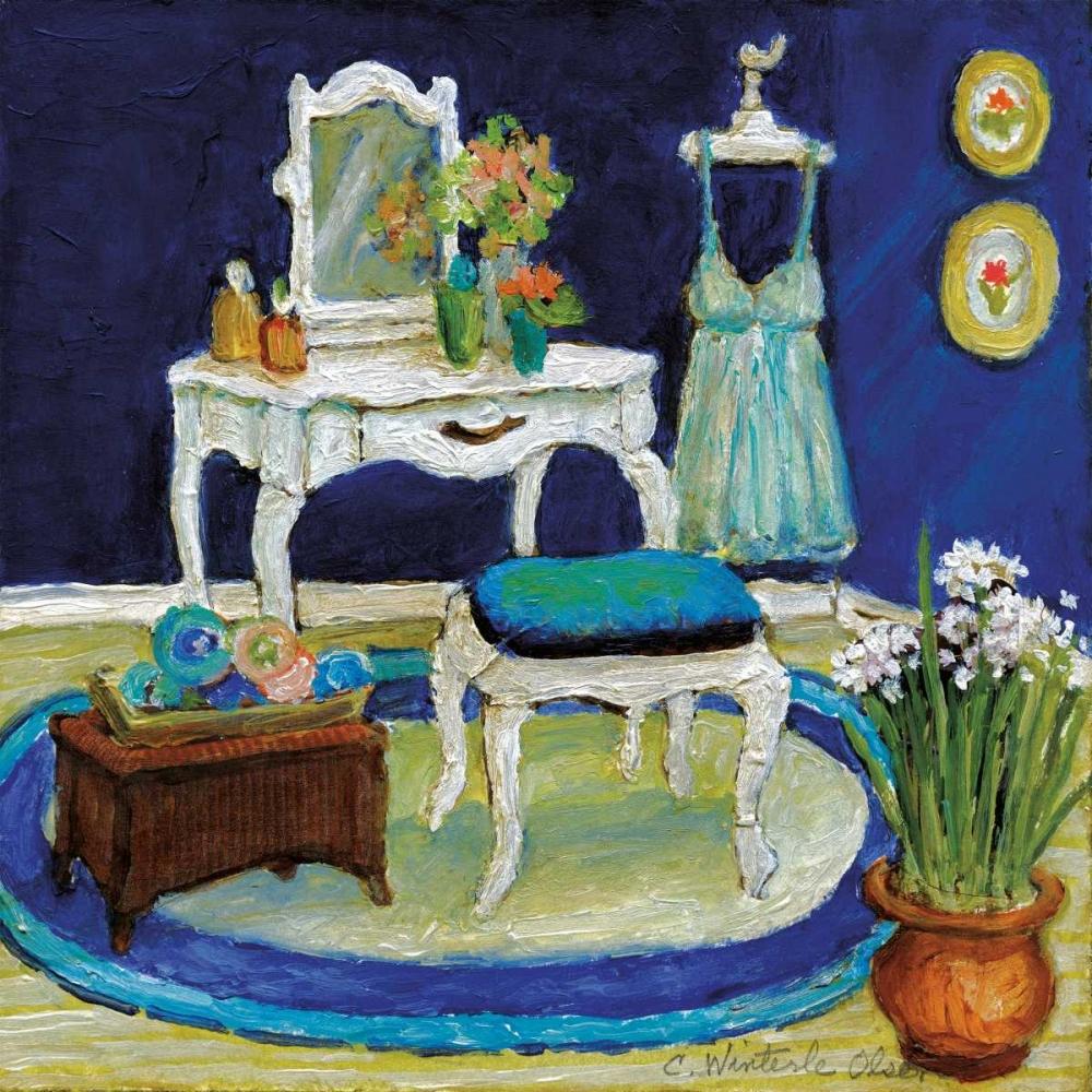Blue Boudoir I Olson, Charlene 34193