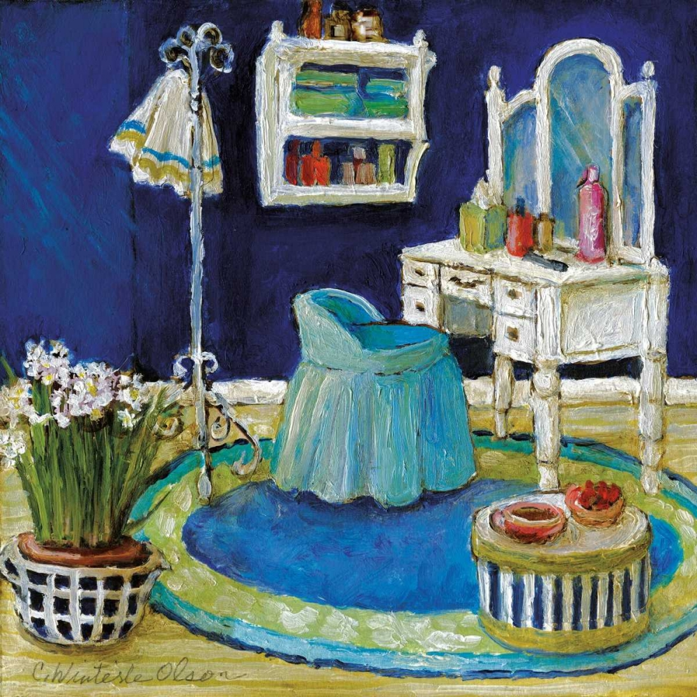 Blue Boudoir II Olson, Charlene 34194
