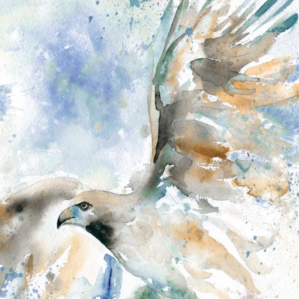 Hawk On Blue Robinson, Carol 95567