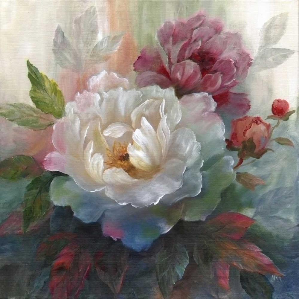 White Roses I Nan 95576