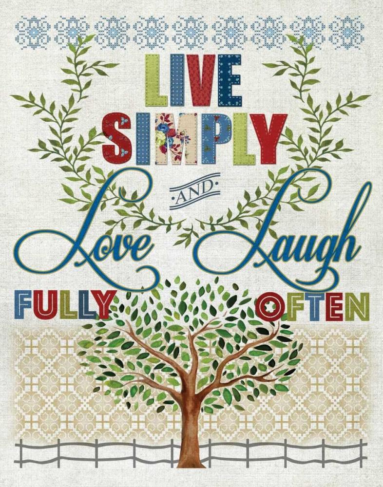 Live Simply Knutsen, Conrad 95636