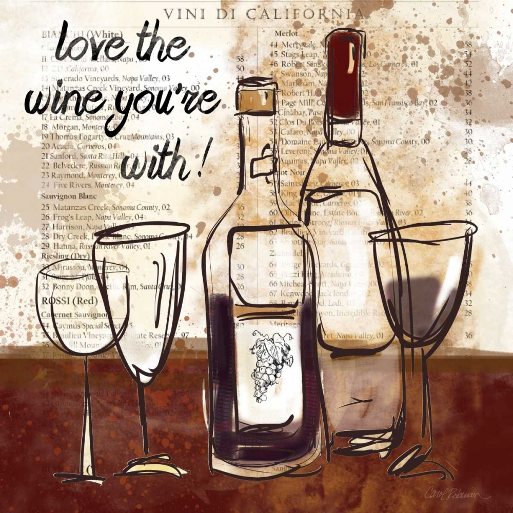 Love the Wine Robinson, Carol 95657