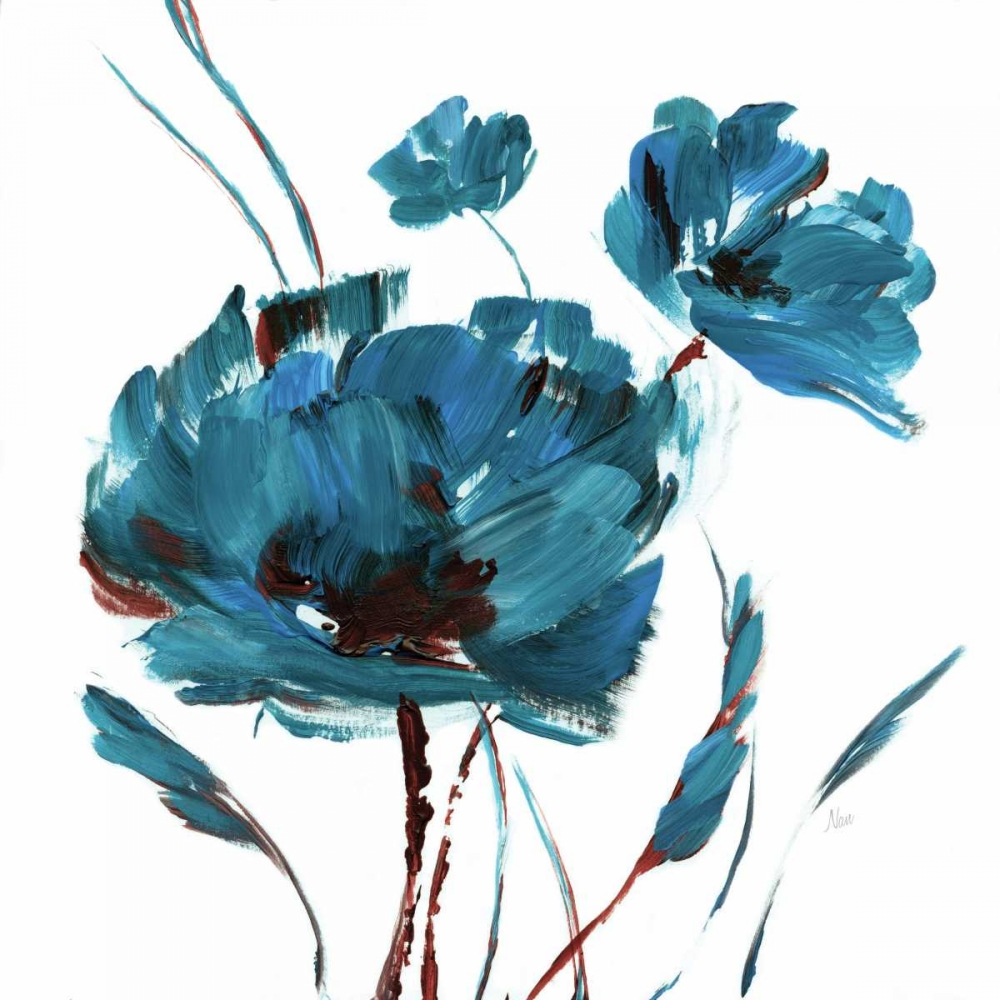 Blue Poppy Splash II Nan 95768
