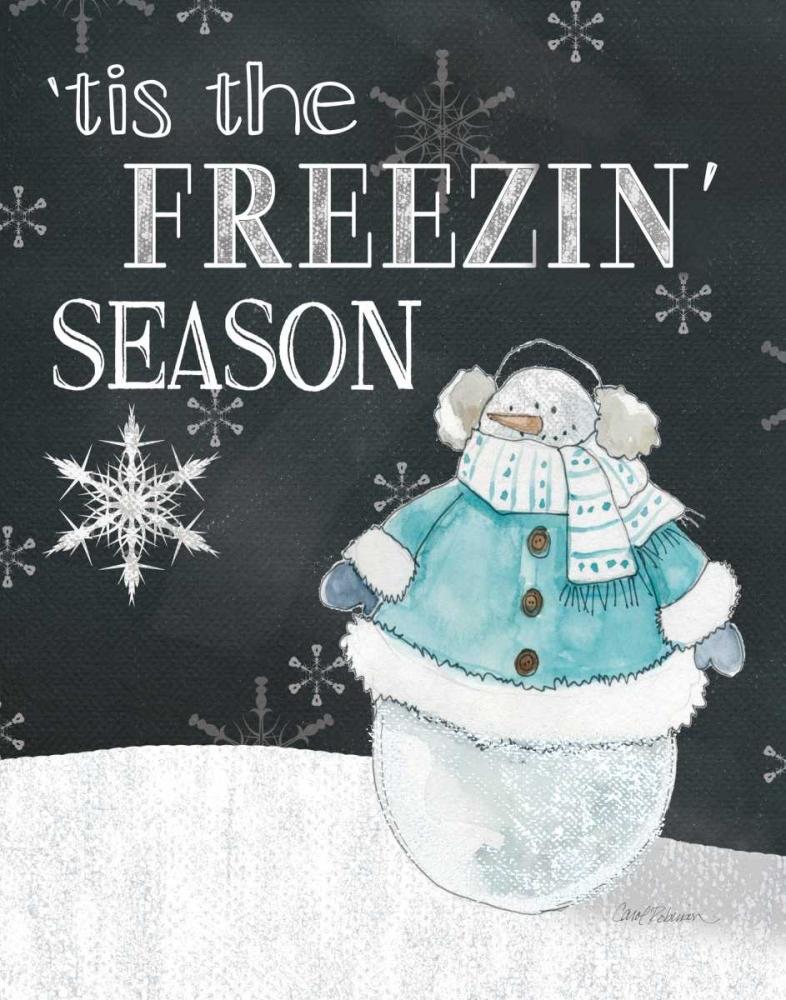 Tis The Freezin Robinson,Carol 101956