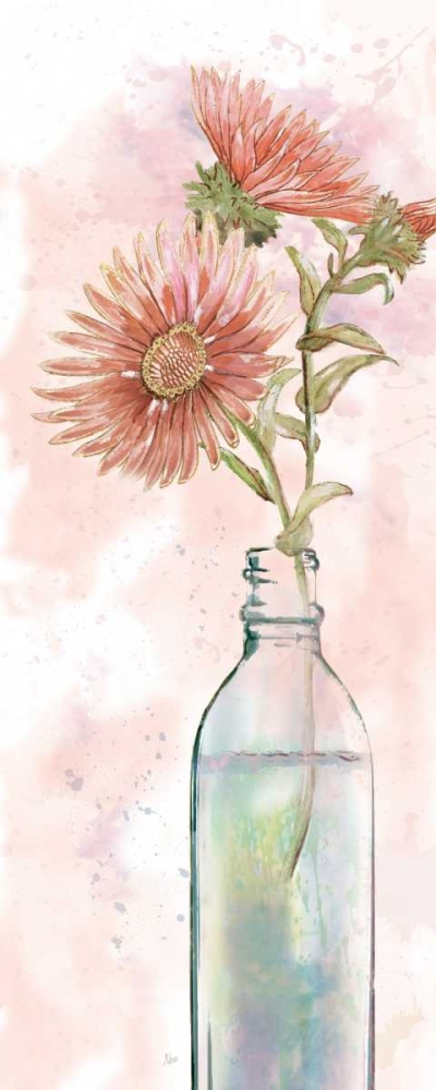 Vintage Bottle Daisy Nan 151134