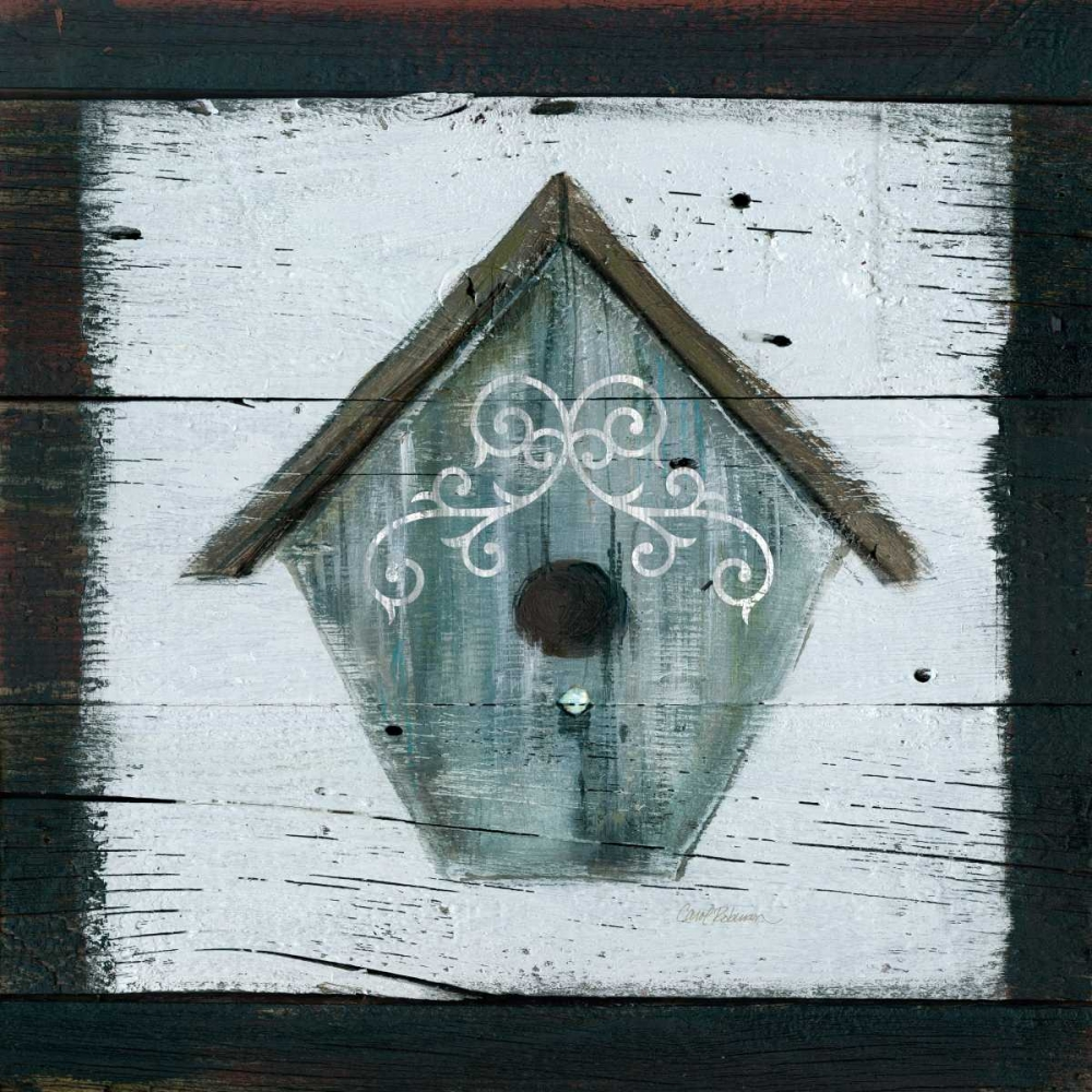 Stained Birdhouse Robinson, Carol 124511