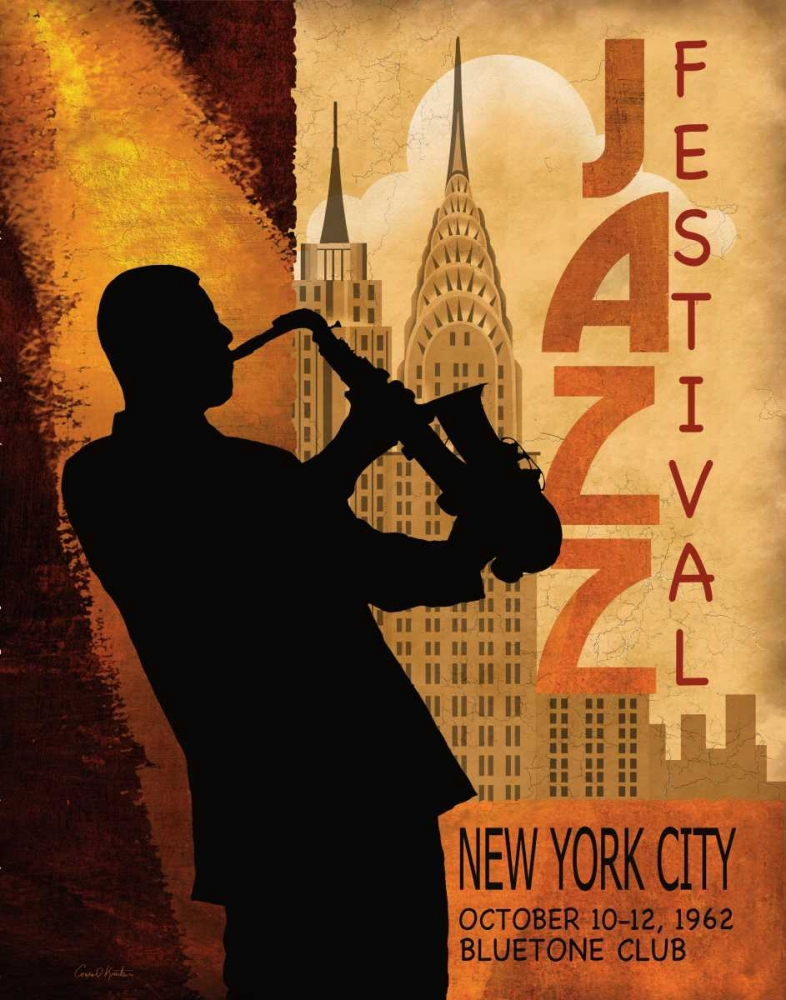 1962 Jazz in New York Knutsen, Conrad 56178