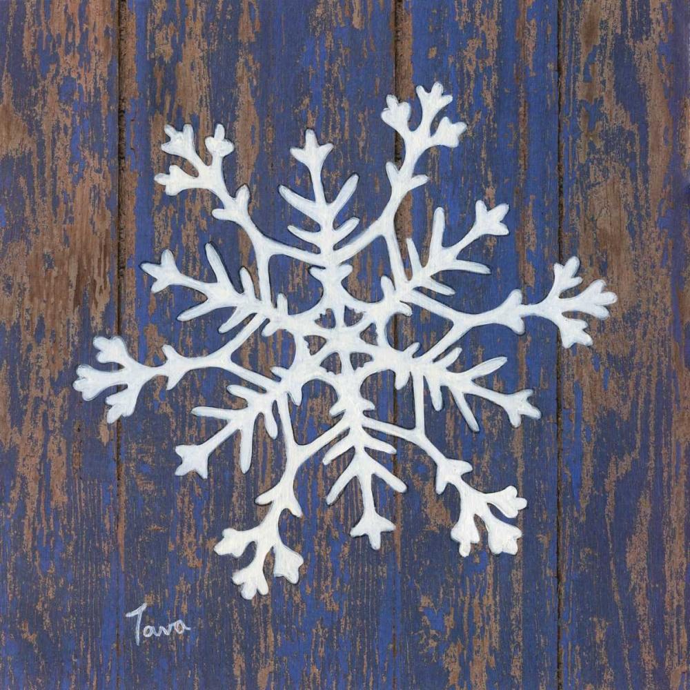 Stencil Snowflake Tava, Janet 101974