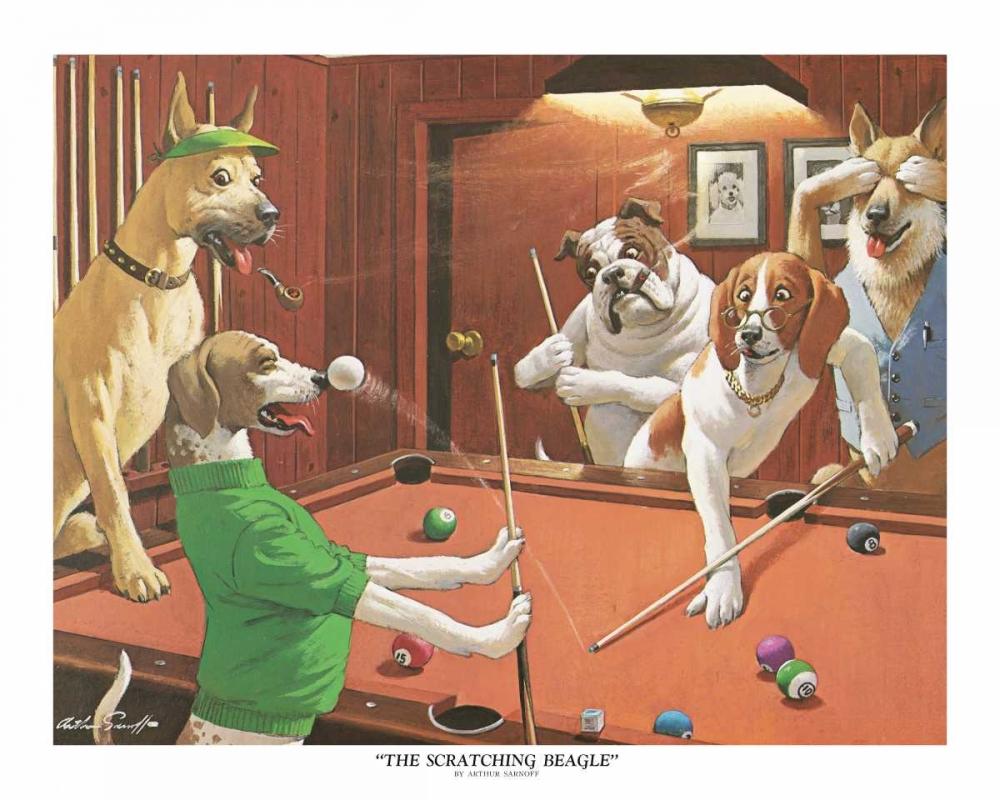 The Scratching Beagle Sarnoff, Arthur 162695