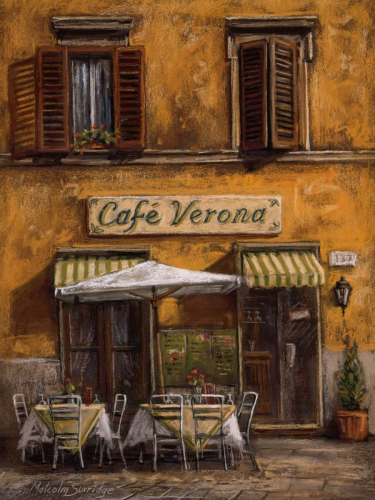Cafe Verona Surridge, Malcolm 12030