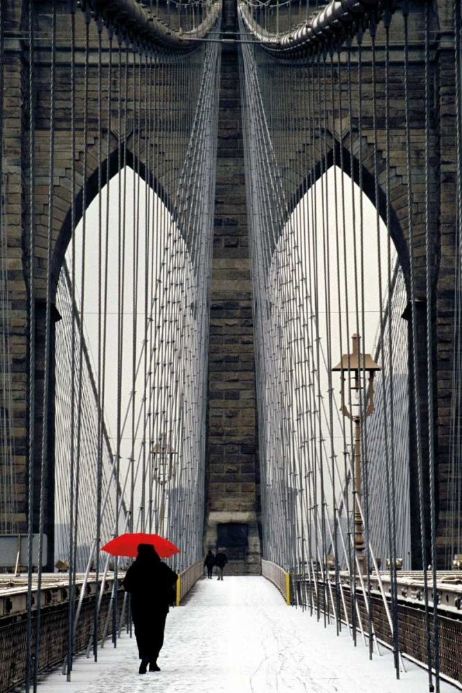 Brooklyn Bridge Meets Red Cahill, Michael 36145