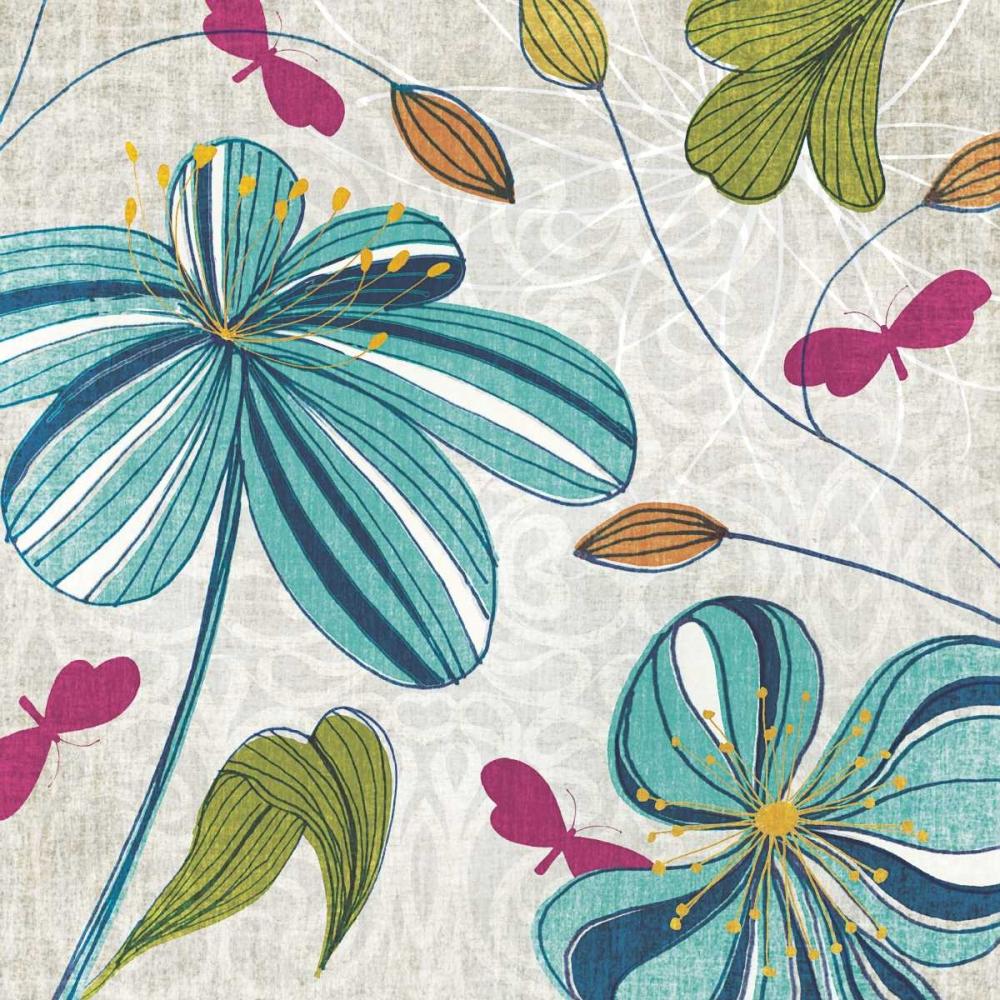 Flowers and Butterflies Venter, Tandi 36458