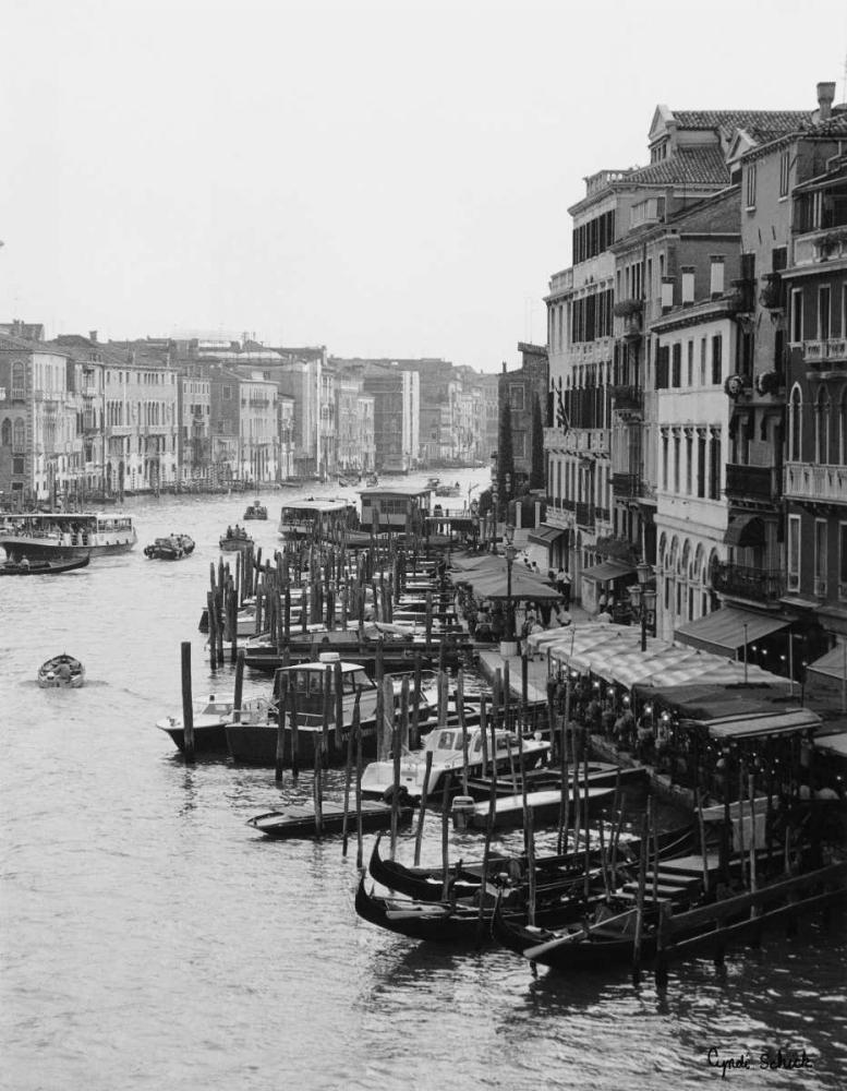 Array of Boats Venice Schick, Cyndi 11101
