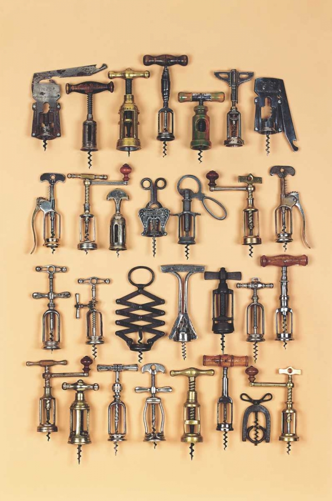 Vintage Corkscrews Rose, Andrew 13161
