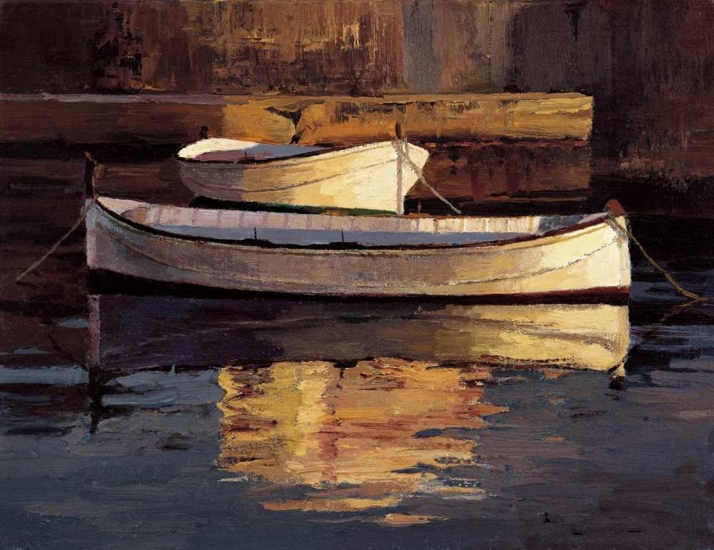 Barcas al Atardecer Romeu, Poch 12299