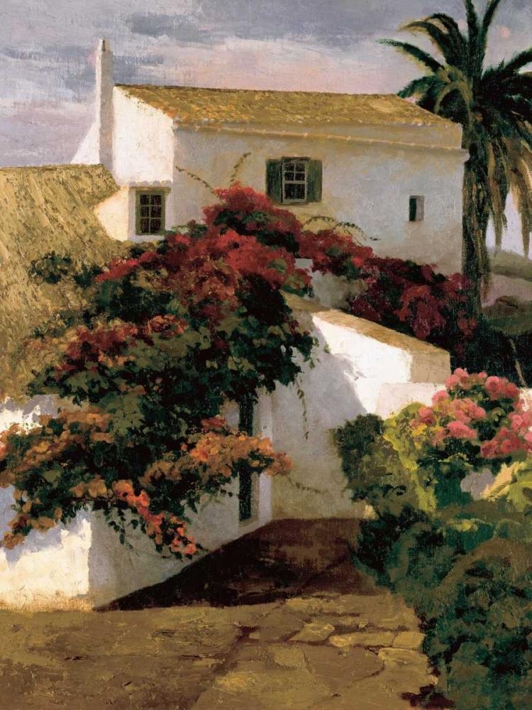 Courtyard Blossoms Romeu, Poch 12398