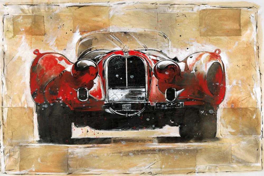 Vintage Red Wiley, Marta G. 37013