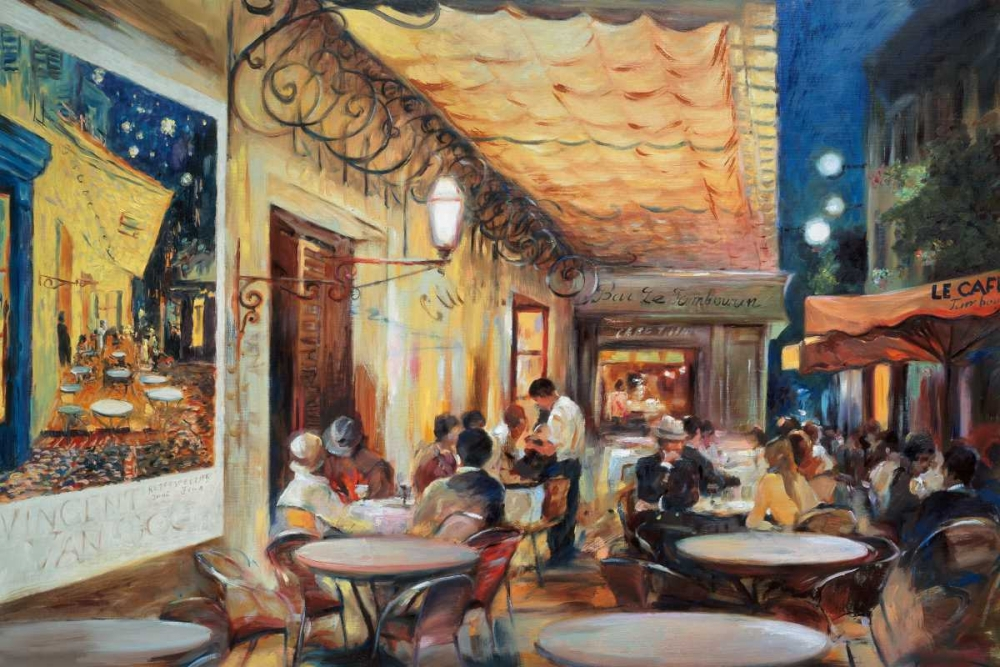 Cafe Van Gogh Zielinska, Maria 37032