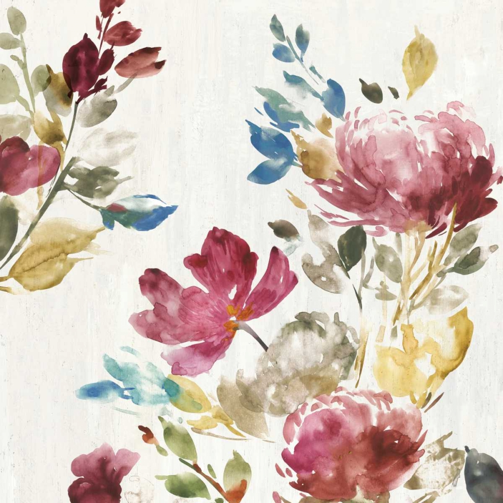 Vintage Floral II Jensen, Asia 126587