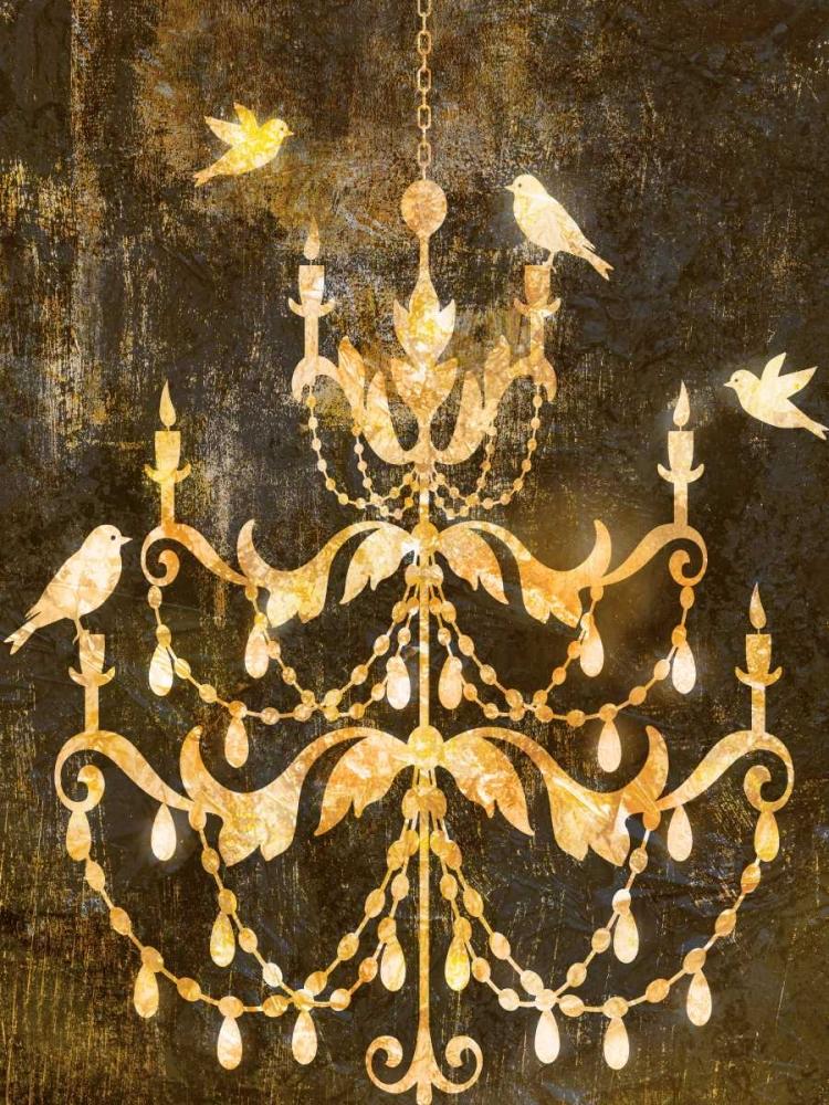 Deco Gold Distress I Selkirk, Edward 80480