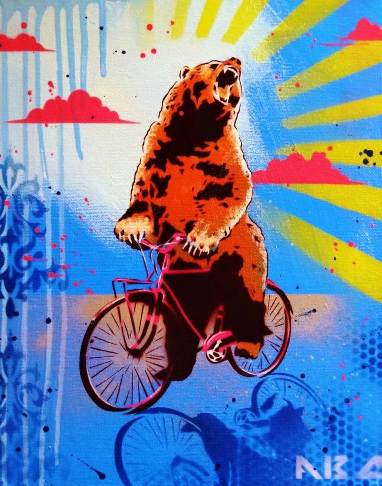 Bear Back Rider AbcArtAttack 149664