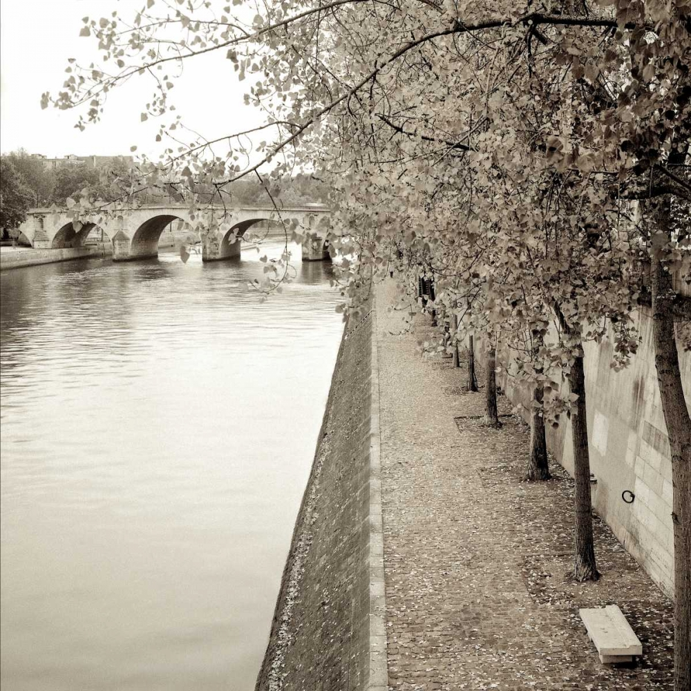 Sepia-Promenade Seine - 2 Blaustein, Alan 82482