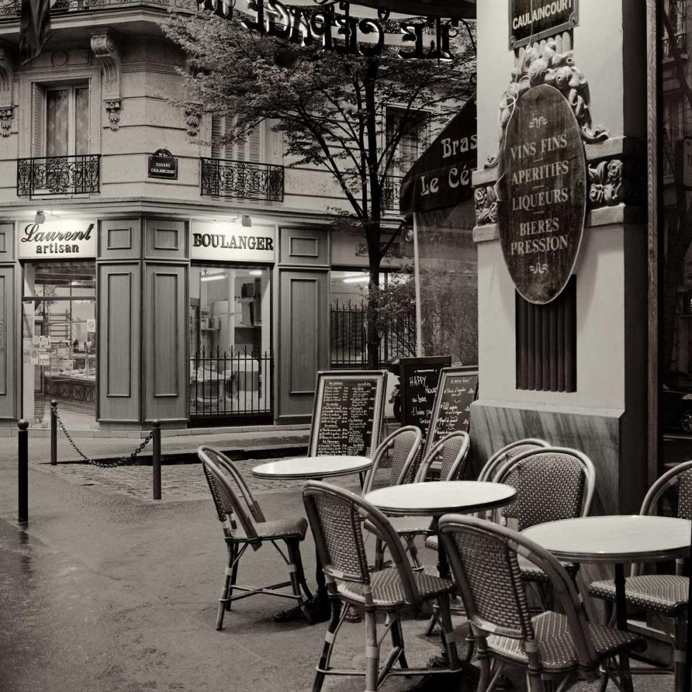 Café, Montmartre Blaustein, Alan 81562