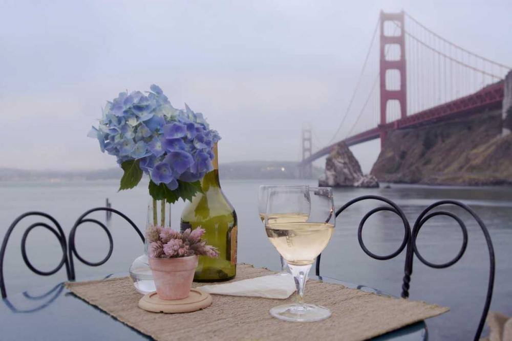 Dream Cafe Golden Gate Bridge - 3 Blaustein, Alan 81654