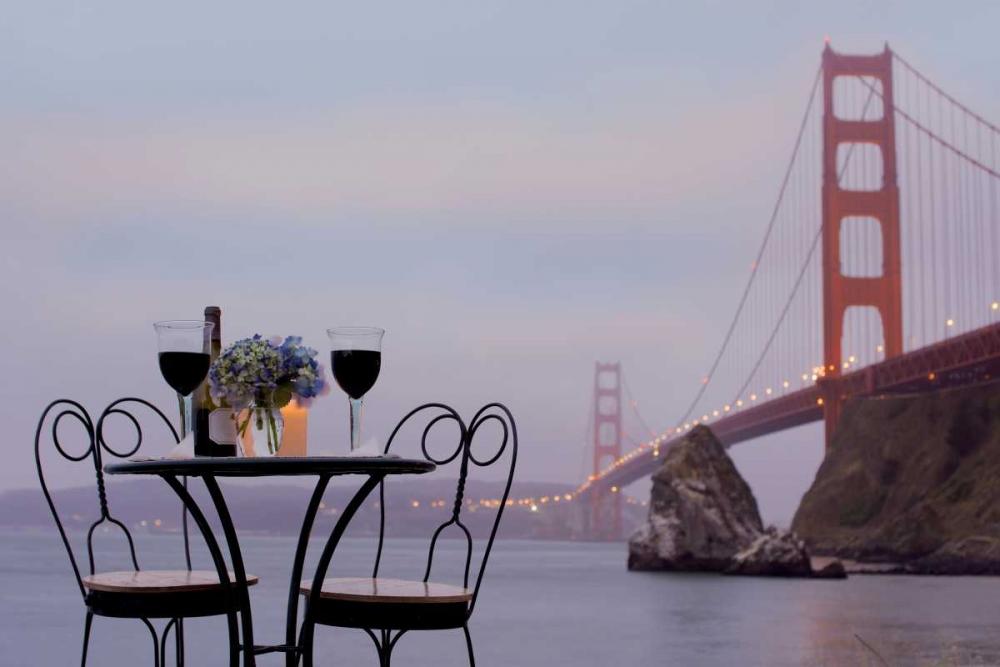 Dream Cafe Golden Gate Bridge - 37 Blaustein, Alan 81657