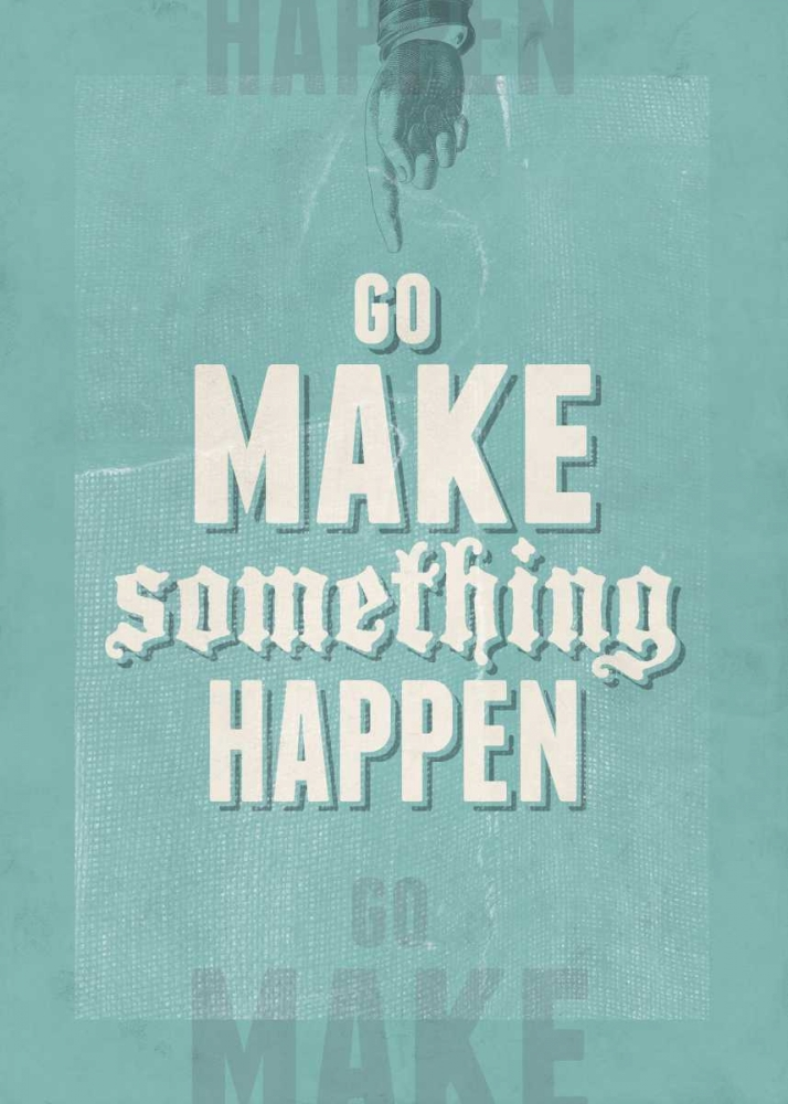 Go Make Something Happen Beer, Hannes 65441