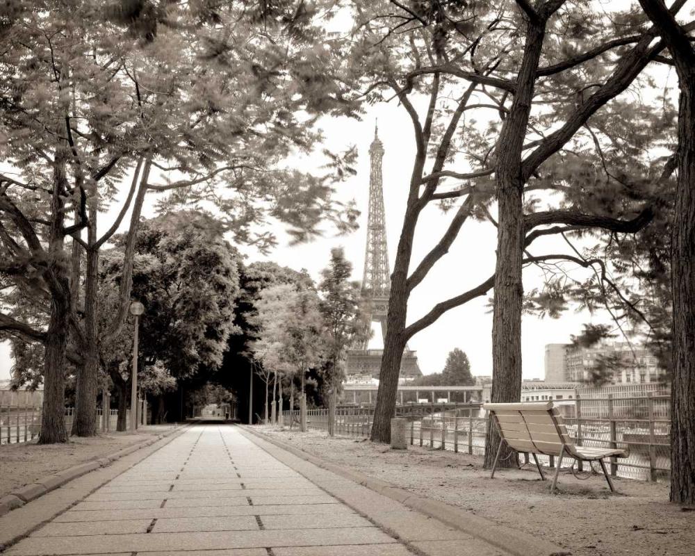 Promenade et Tour Eiffel Blaustein, Alan 74583