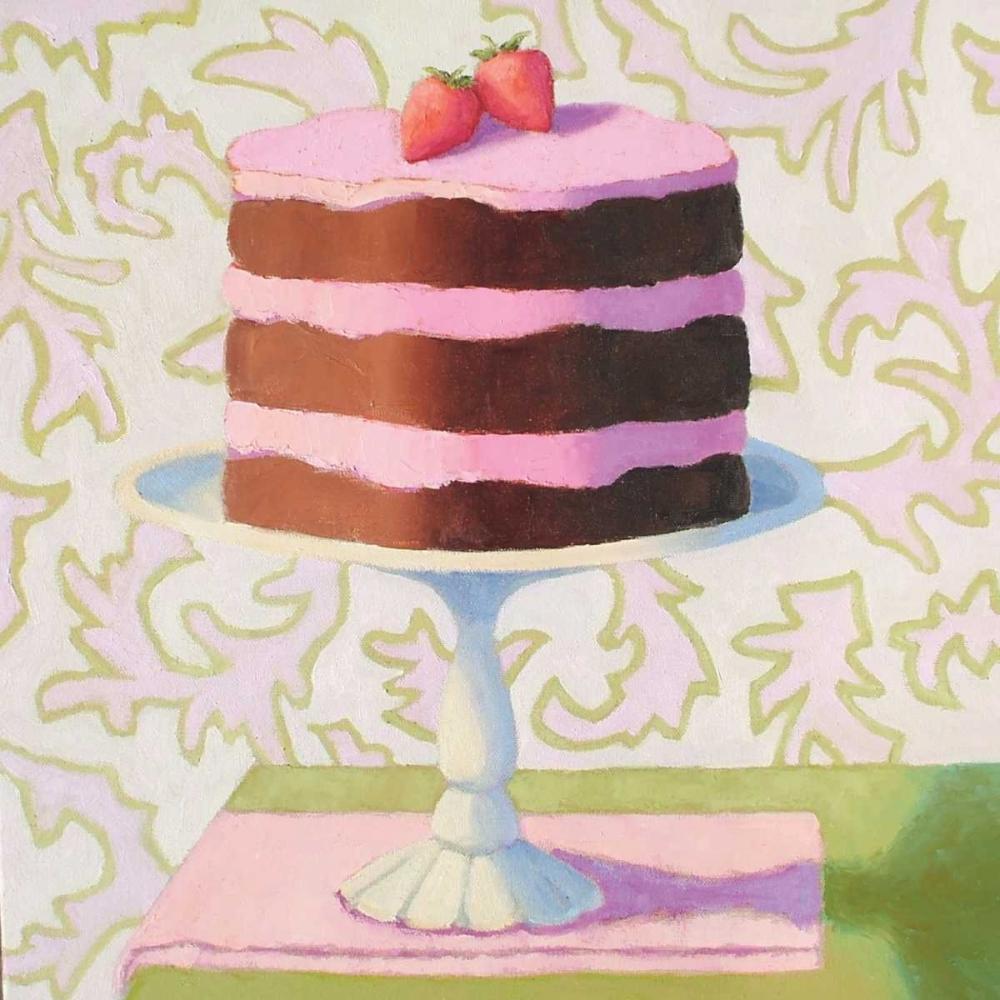Chocolate Strawberry Torte Doherty, Patricia 13506