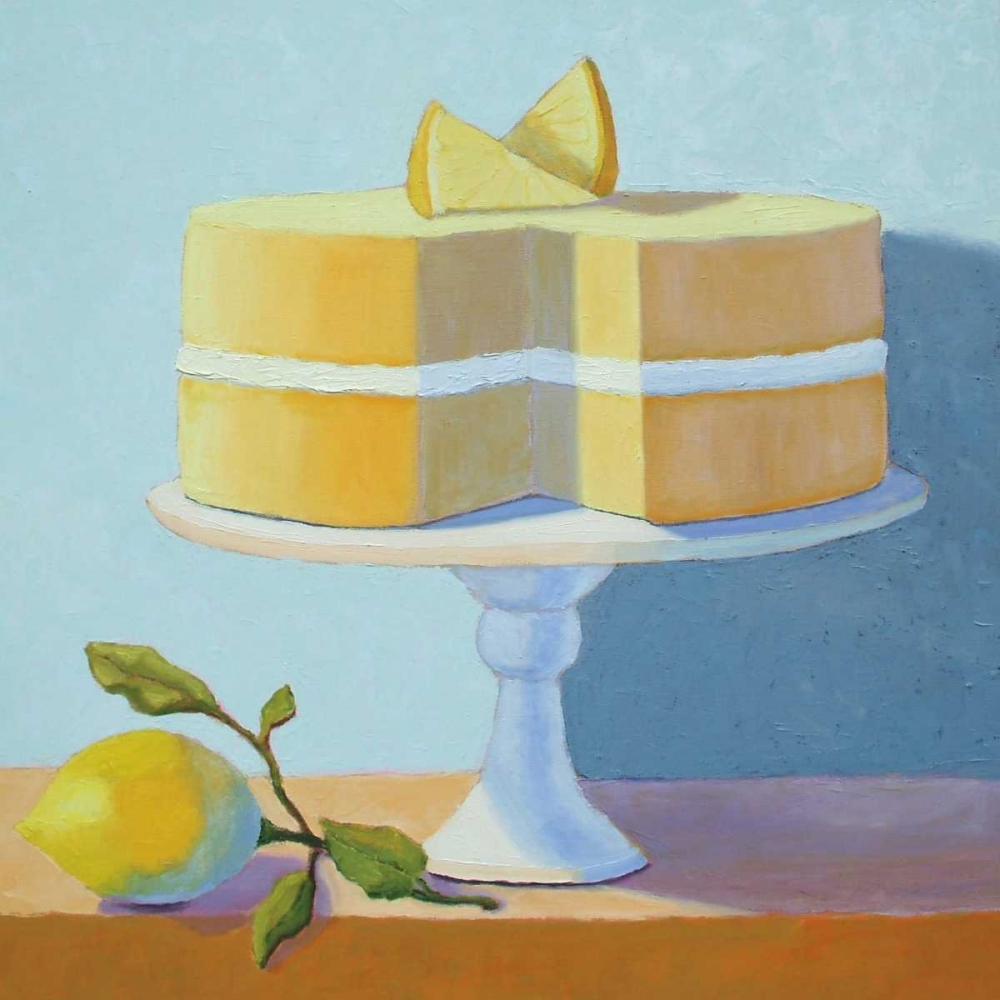Double Layer Lemon Cake Doherty, Patricia 13507