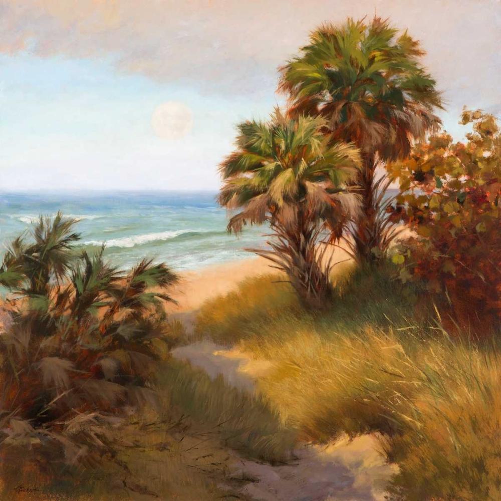 Moon and Palms Erickson, Mary 32837