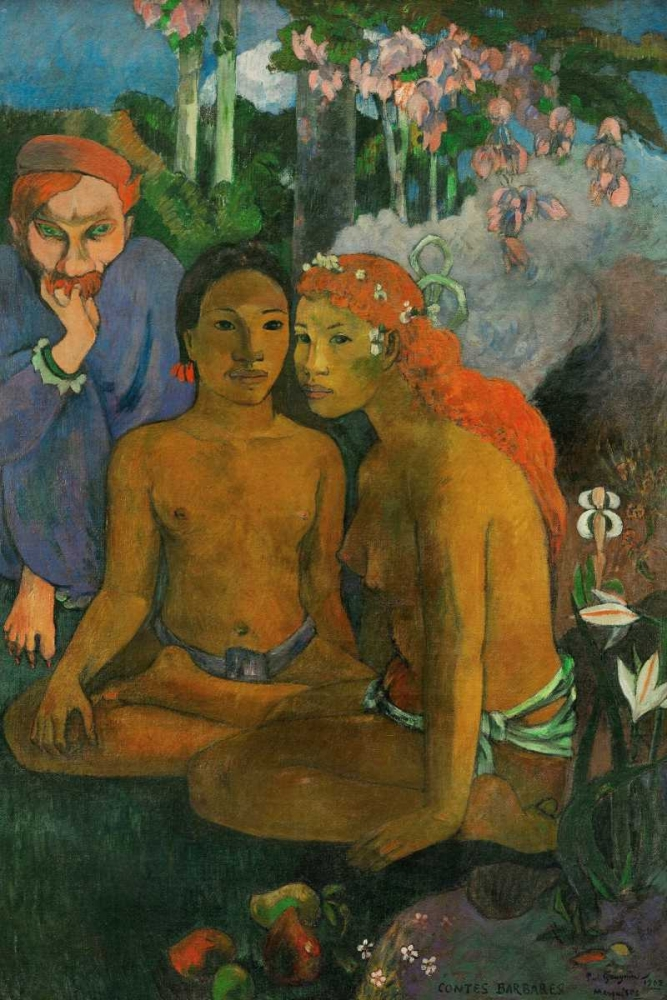 Contes barbares Gaugin, Paul 139829