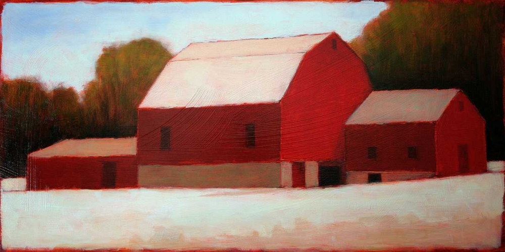 Red Barn Times Three Helgeson, Tracy 82658