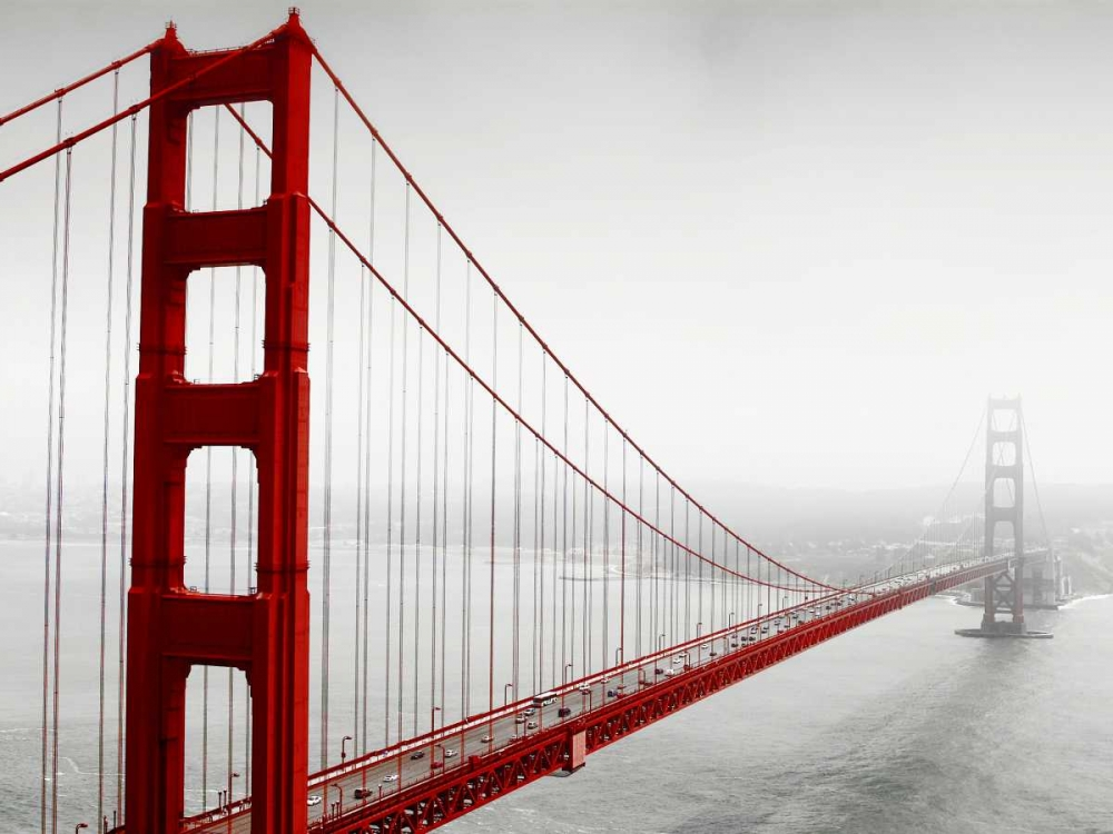 Golden Gate Bridge in Fog PhotoINC Studio 107337