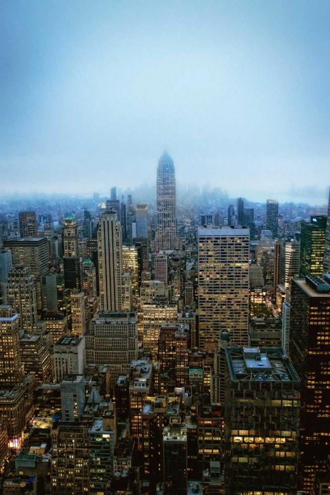 New York View by Night Juul, Thomas 149725