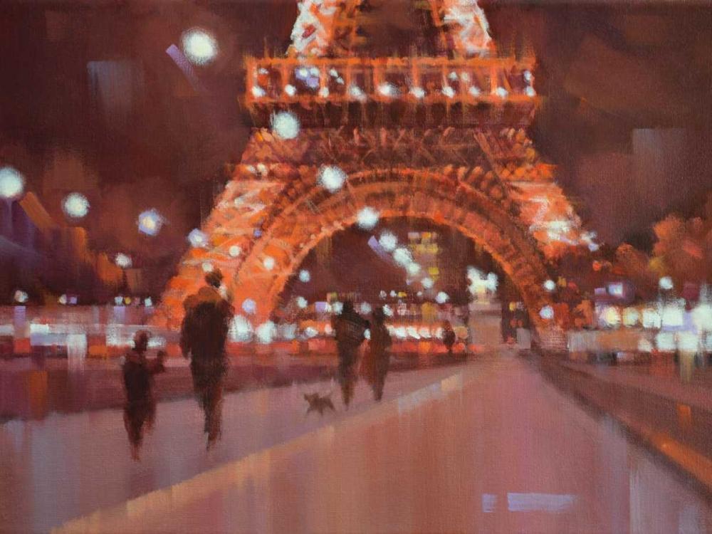 Paris at Night Krioutchkov, Alex Hook 13597