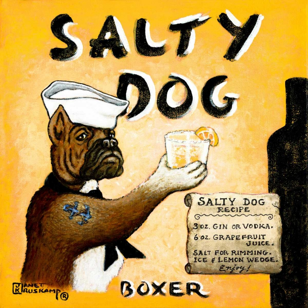 Salty Dog Kruskamp, Janet 65763
