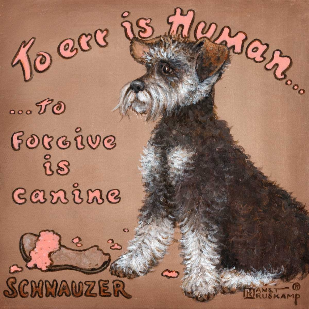To Forgive Is Canine Kruskamp, Janet 65764