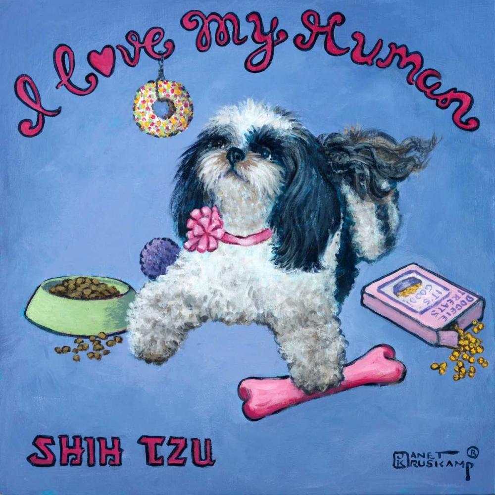 I Love My Human Kruskamp, Janet 65757