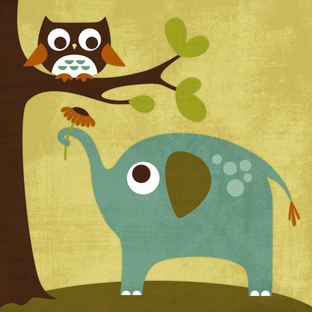 Owl and Elephant Lee, Nancy 14968