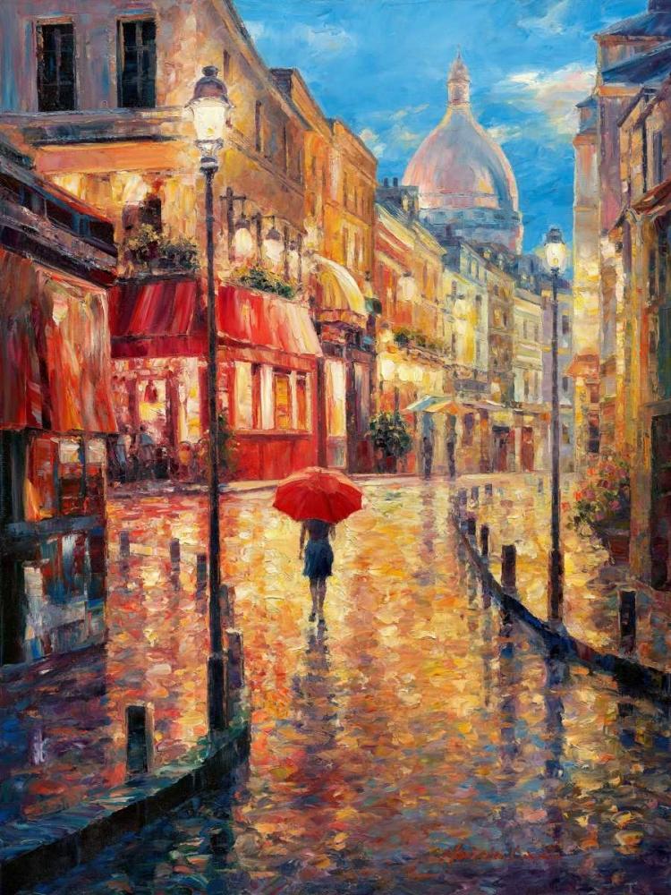 Montmartre Evening Liu, Haixia 33046