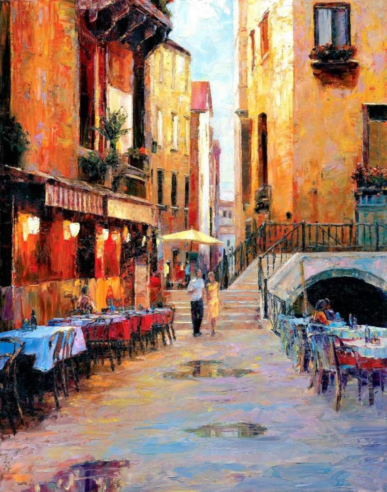 Street Cafe after Rain Liu, Haixia 33050