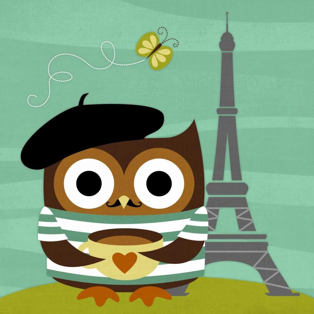 Owl in Paris Lee, Nancy 33031